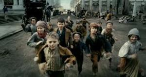The children in Les Miserables